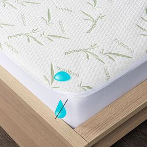 4Home Bamboo Nepropustný chránič matrace s lemem, 90 x 200 cm