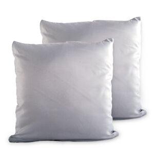 4Home Povlak na polštářek šedá, 2x 40 x 40 cm, 40 x 40 cm