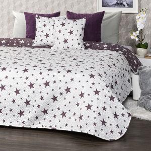 4Home Přehoz na postel Stars, 220 x 240 cm, 2 ks 40 x 40 cm