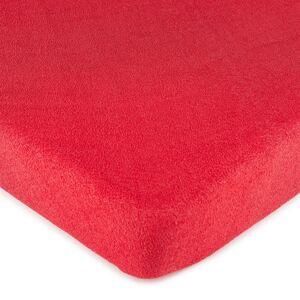 4Home froté prostěradlo červená, 180 x 200 cm