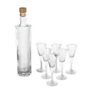 Altom 7dílná sada láhve a skleniček Royal Leerdam
