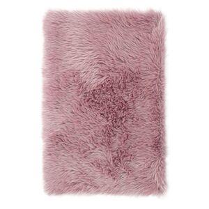 AmeliaHome Kožešina Dokka růžová, 50 x 150 cm