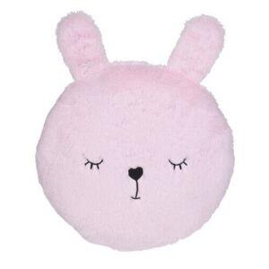 Chlupatý polštářek Sweetie pr. 27 cm, zajíček