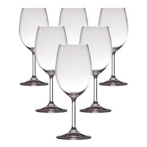 Crystalex 6dílná sada sklenic na víno Lara, 350 ml