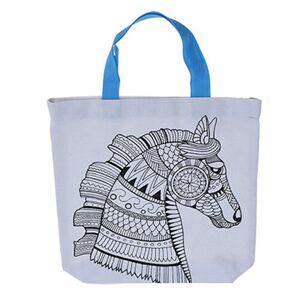 Dětská taška na vybarvení Kůň, 28,5 x 29 cm