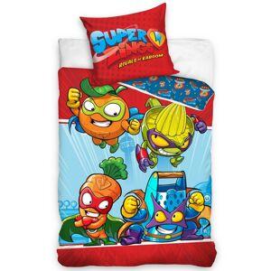 Tiptrade Dětské bavlněné povlečení SuperZings Mega Veg vs Great Ter, 140 x 200 cm, 70 x 90 cm