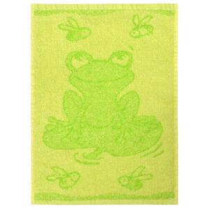Profod Dětský ručník Frog green, 30 x 50 cm