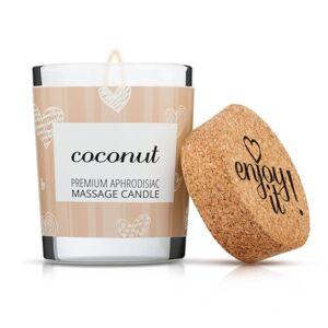 Enjoy it! Masážní svíčka Coconut, 70 ml