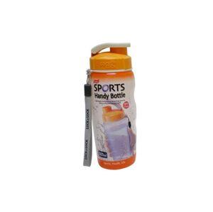 LOCKNLOCK Plastová láhev na pití 500 ml - oranžová