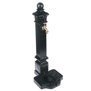 Hliníková fontána černá, 80 x 32 cm