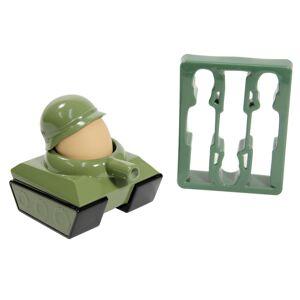 Kalíšek na vejce + vykrajovátka vojáci