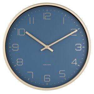 Karlsson 5720BL designové nástěnné hodiny, pr. 30 cm