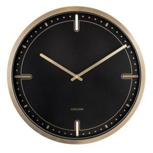 Karlsson 5727BK designové nástěnné hodiny, pr. 42 cm