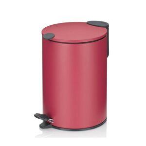 Kela Kosmetický odpadkový koš MATS 3 l, červená