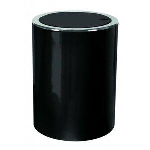 Kleine Wolke Kosmetický odpadkový koš Clap 5 l, černá