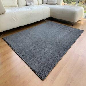 Vopi Kusový koberec Capri antracit,, 60 x 120 cm
