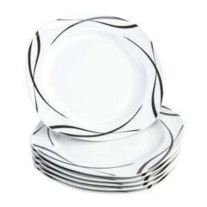 Mäser 6dílná sada mělkých talířů Oslo, 25 cm
