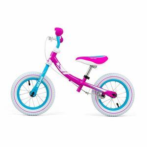 Milly Mally Dětské odrážedlo/kolo s brzdou Young candy, 89 x 57 cm