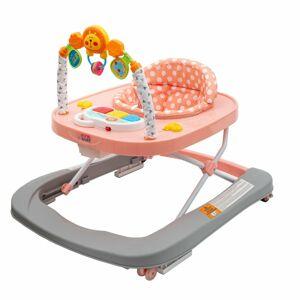 New Baby Chodítko Forest Kingdom Pink