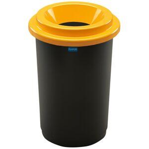 Aldotrade Odpadkový koš na tříděný odpad Eco Bin 50 l, žlutá