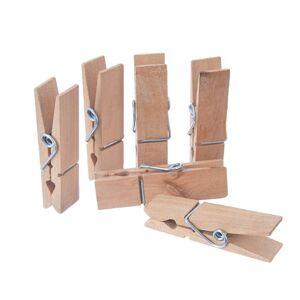 Orion Kolíčky dřevo 12 ks DEKORAČNÍ