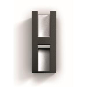 Philips 17351/93/P0 Shadow Venkovní nástěnné LED svítidlo 22 cm, antracit