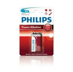 Baterie Philips Power Alkaline 9 V, 1 ks
