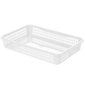 Aldo Plastový košík 15,5 x 12,5 x 6,6 cm, bílá