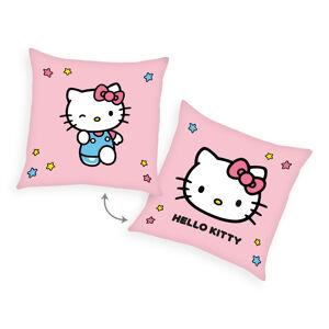 Herding Polštářek Hello Kitty růžová, 40 x 40 cm