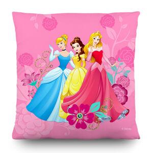 AG Art Polštářek Princess Disney růžová, 40 x 40 cm