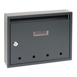 Poštovní ocelová schránka BK.24.D.AM