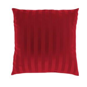 Kvalitex Povlak na polšářek Stripe červená, 40 x 40 cm