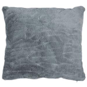 BO-MA Povlak na polštářek Clara tmavě šedá, 45 x 45 cm