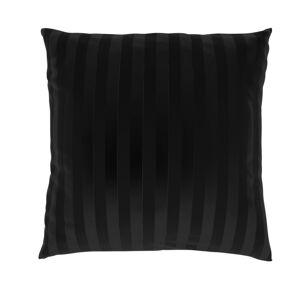 Kvalitex Povlak na polštářek Stripe černá, 40 x 40 cm