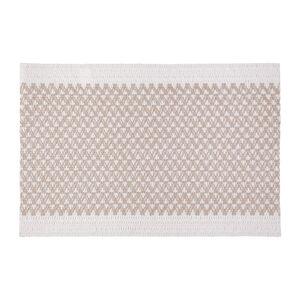 Bo-ma Trading Prostírání Elly bílá - béžová, 30 x 45 cm