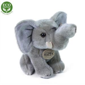 Rappa Plyšový sedící slon, 18 cm