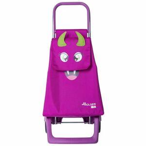 Rolser Dětská nákupní taška na kolečkách Monster MF Joy-1700, růžová