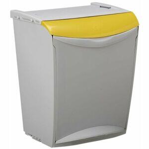 Rossignol Kos na tříděný odpad Bakatri 25 l, žlutá