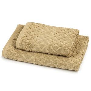 Trade Concept Sada Rio ručník a osuška béžová, 50 x 100 cm, 70 x 140 cm