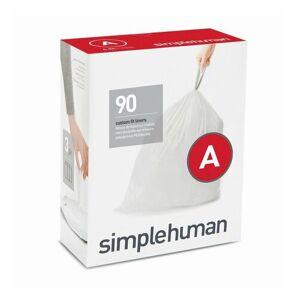 Sáčky do odpadkového koše 4,5 L, Simplehuman typ A, zatahovací, 3 x 30 ks ( 90 sáčků )