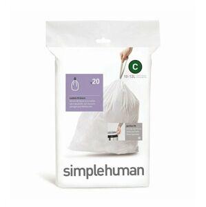 Simplehuman Sáčky do odpadkového koše C 10-12 l, 20 ks