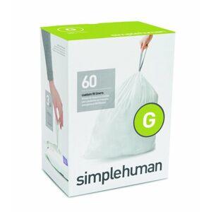 Sáčky do odpadkového koše 30 L, Simplehuman typ G zatahovací, 3 x 20 ks ( 60 sáčků )