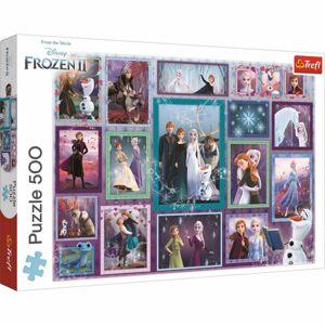 Trefl Puzzle Ledové království Kouzelná galerie, 500 dílků