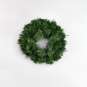 Umělý zelený věnec, 20 cm