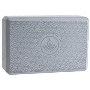 XQ Max Pomůcka na cvičení Yoga Block 23 x 15 x 8 cm, stříbrná