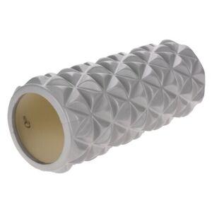 XQ Max Válec na cvičení Yoga 33 x 14,5 cm, stříbrná