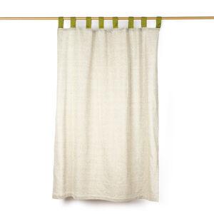 Jahu Závěs režný zelená, 140 x 250 cm